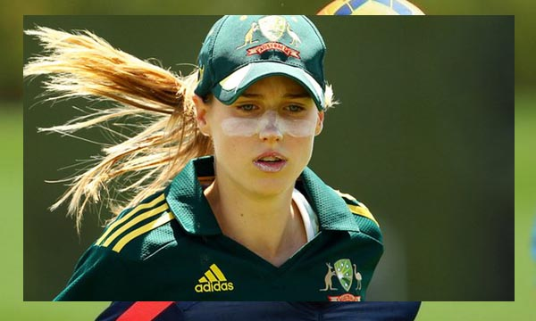 Ellyse Perry double international for Australia.