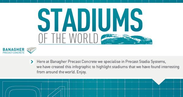 stadiums infograph