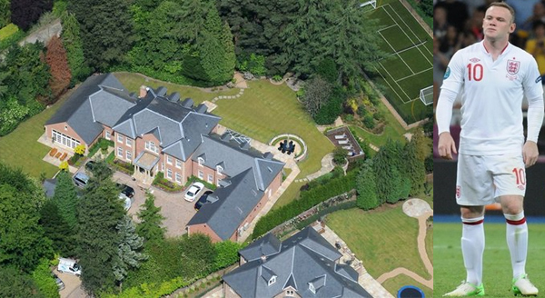Wayne Rooney House Video