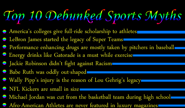 Top 10 Debunked Sports Myths