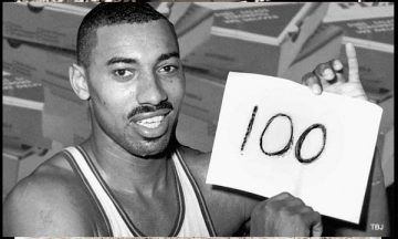 Wilt Chamberlain's 100-points game