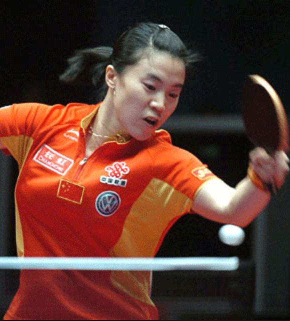 Deng Yaping table tennis