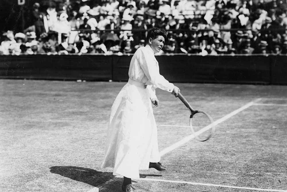 Female Tennis Players in Wimbledon