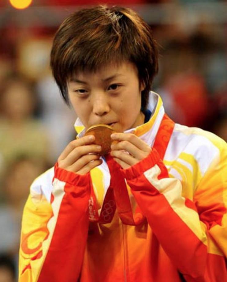Zhang Yining table tennis