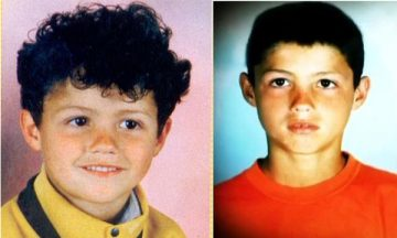 cr7 early years pics