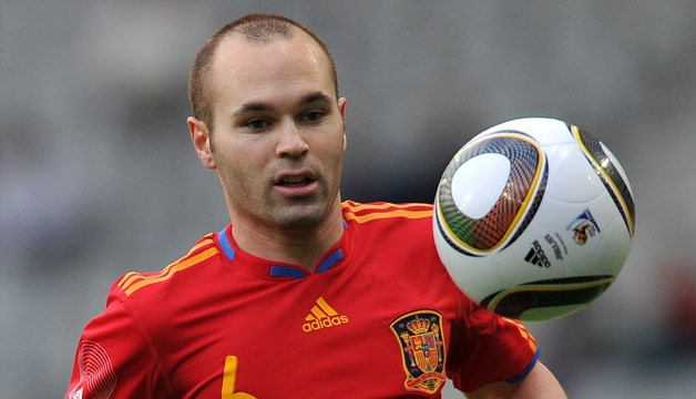 Andres Iniesta Is one of the nominees of fifa ballon d'or 2017