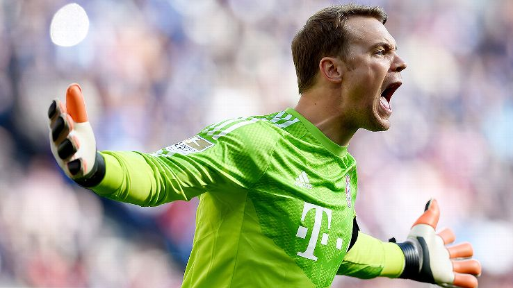 Manuel Neuer Is one of the nominees for ballon d'or