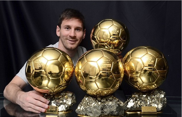 Messi Is one of the 2017 ballon d'or nominees