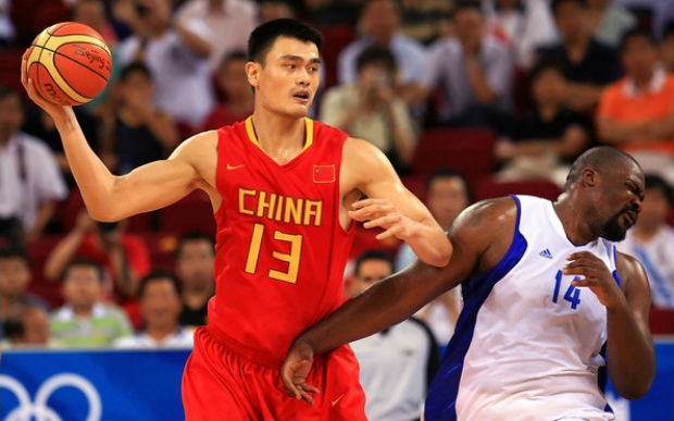 Ming is the tallest Asian basketball player to be featured in NBA db428a9d0