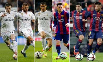 cover of 10 Best Football Trios