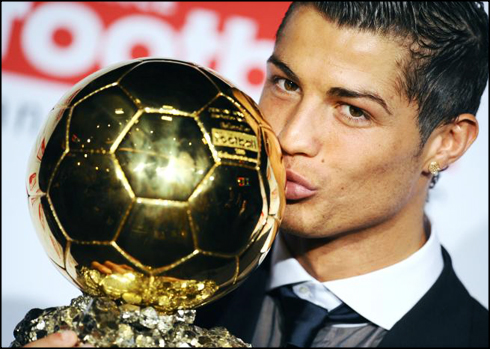Cristiano Ronaldo Is the best football player in the world