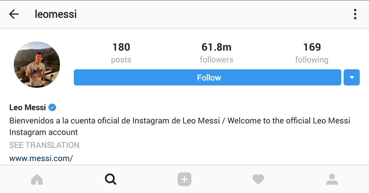 Lionel Messi Is among Talented Instagram Popular Soccer Players 2017