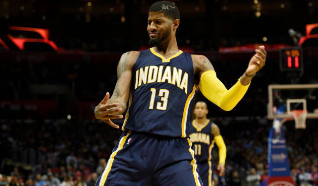 Paul George, SF, Pacers is among Best Basketball Players 2017