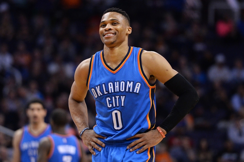 Russell Westbrook, PG, Thunder is among Fabulous Basketball Players 2017