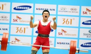 Top 10 Junior Weightlifting Champions 2017 cover