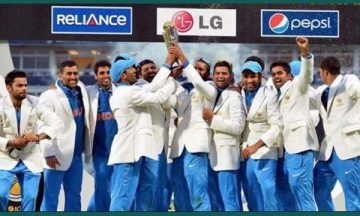 ICC champions trophy winners list