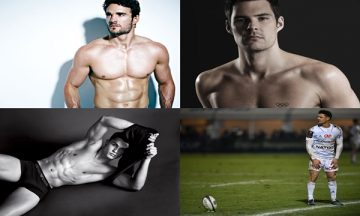 Top 10 Athletes Turned Models 2017 cover
