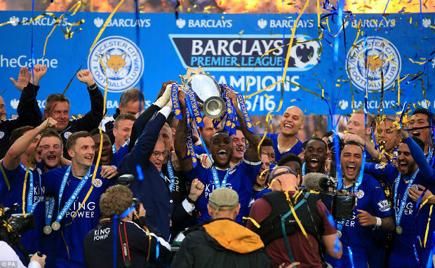 EPL winner of 2015-16