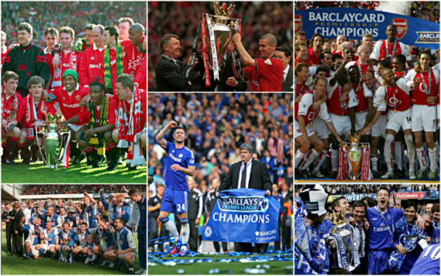 Premier League Winners of all time
