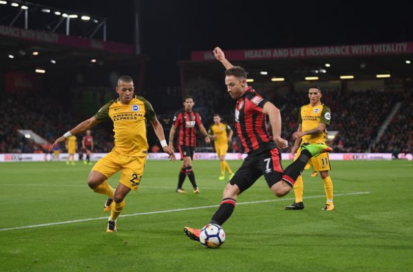 AFC Bournemouth 2 – 1 Brighton and Hove Albion – September 16, 2017