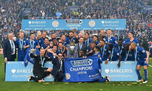 Leicester City became the 2015-16 EPL Champion