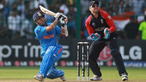 most sixes in odi india