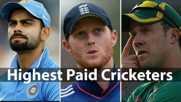List of Highest Paid Cricket Players