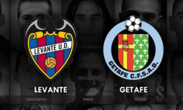 Levante vs Getafe Live Streaming
