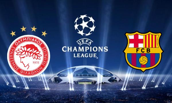 Olympiakos vs Barcelona Live Streaming