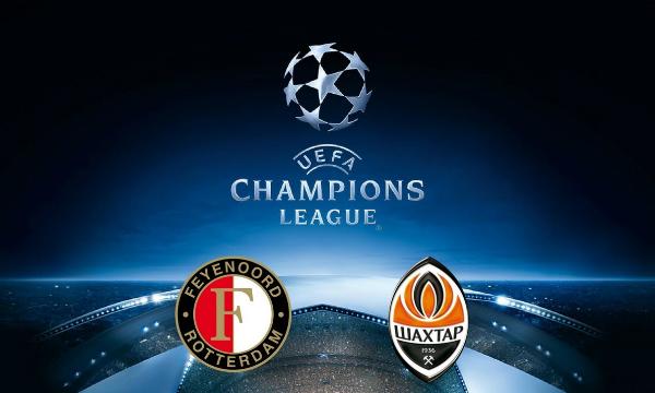 Shakhtar Donetsk vs Feyenoord Live Streaming