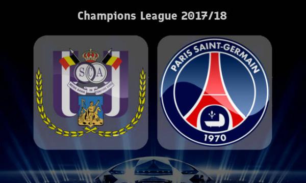 Anderlecht vs PSG Live Streaming