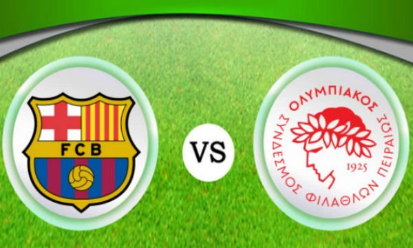 Barcelona vs Olympiakos Live Streaming