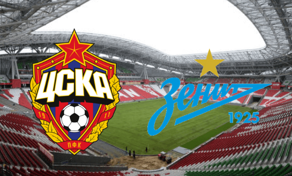 CSKA Moscow vs Zenit Live Streaming