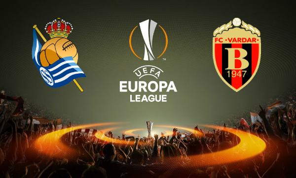 Real Sociedad vs Vardar Live Streaming