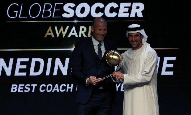 Best coach Globe Soccer Award