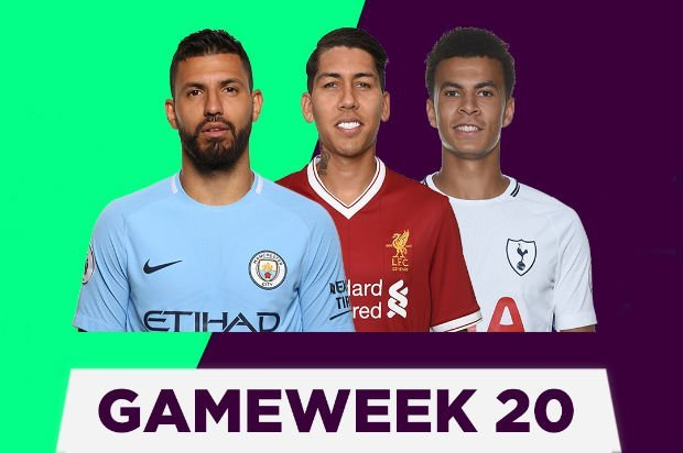 GameWeek 20 table and scorers