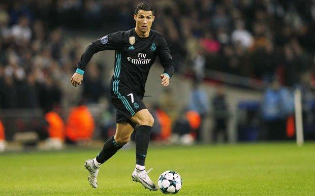 Cristiano Ronaldo showing form