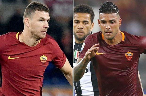 Dzeko and Palmieri transfer