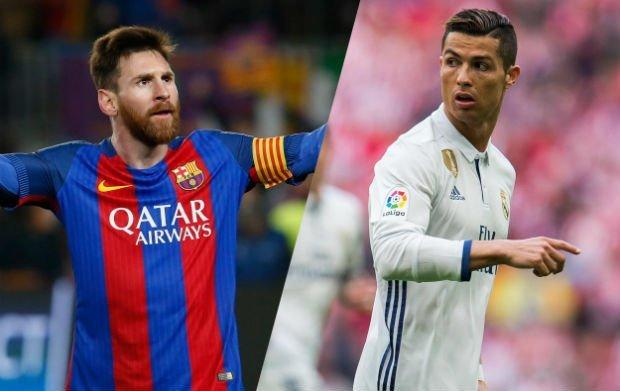Cristiano Ronaldo calls Messi