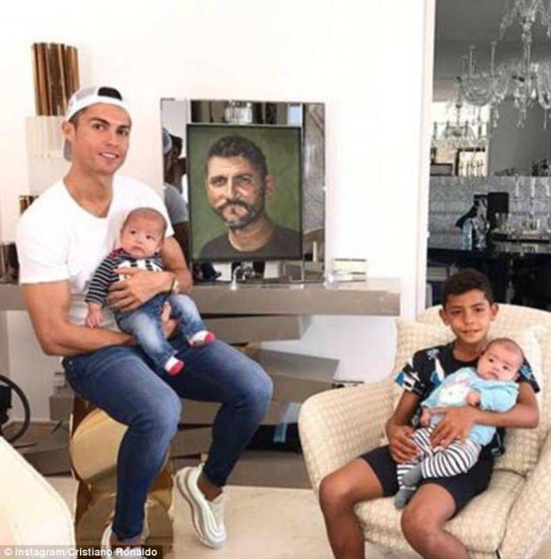 Cristiano Ronaldo's kid