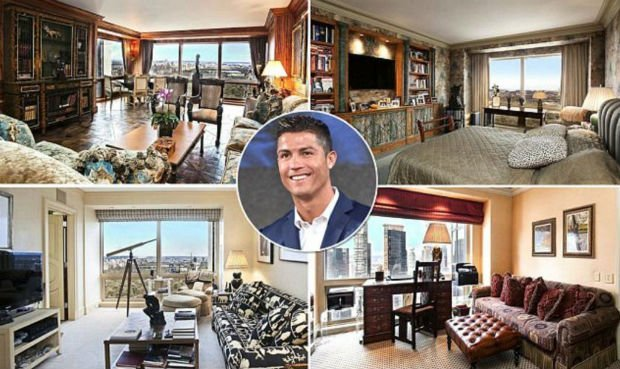 Cristiano Ronaldo looking for a house to buy in England