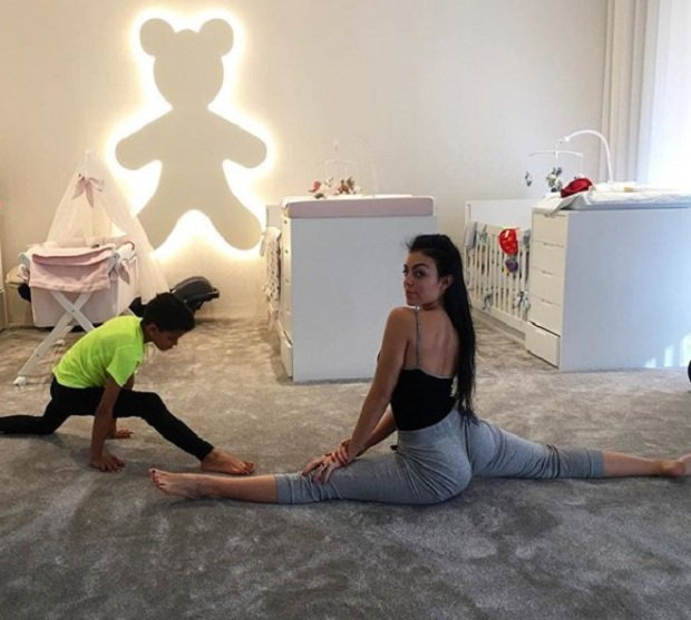 Georgina Rodriguez shares picture of nursery of CR7's children
