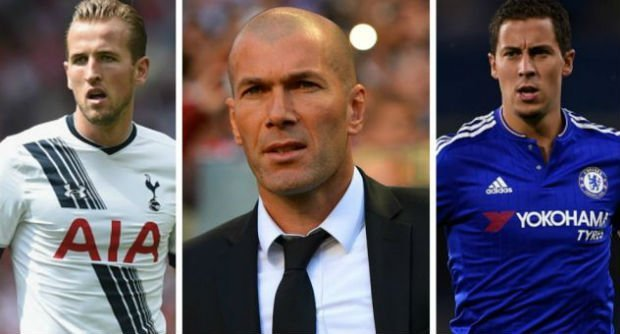 Zidane wants Harry Kane
