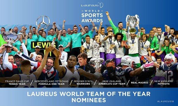 Cristiano Ronaldo nominated as Laureus World Sportsman of the Year