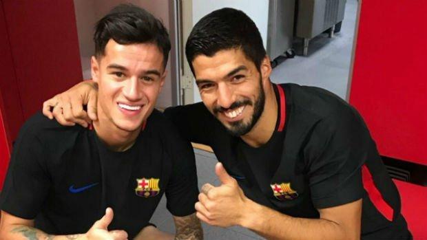 Suarez reveals Barcelona transfer news