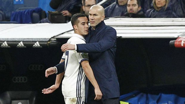 Lucas Vazquez says it in the press conference