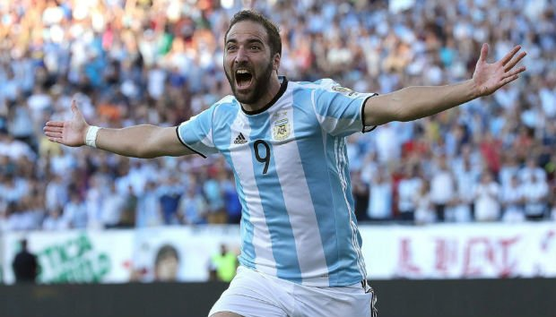 Argentina national team career of Gonzalo Higuain