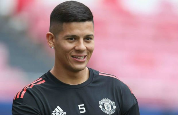 Detailed club career of Marcos Rojo
