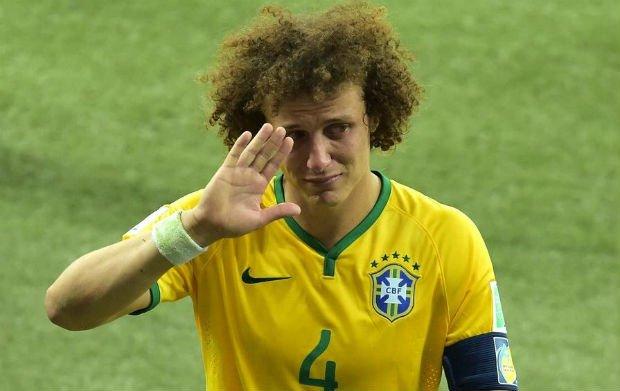 Full Brazil team career of David Luiz
