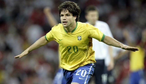 Diego Ribas Brazil career